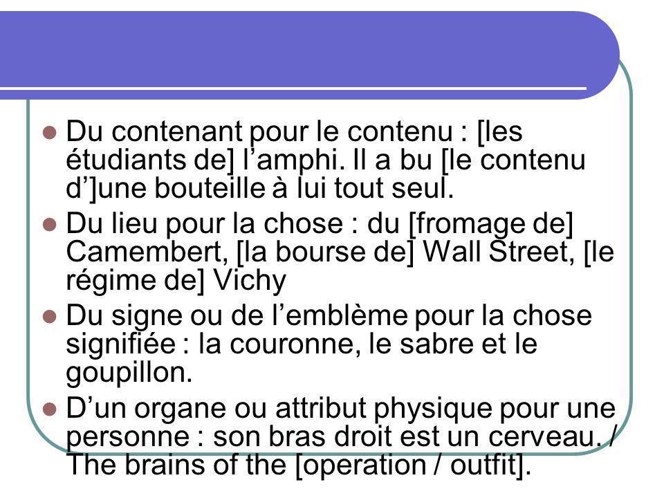 Du contenant pour le contenu : [les étudiants de] l'amphi